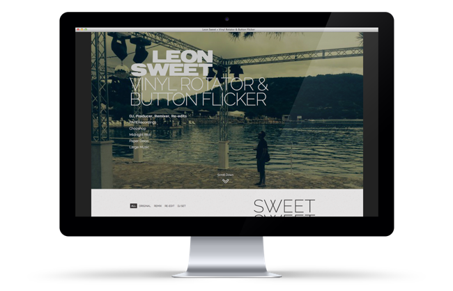 Leon Sweet Website