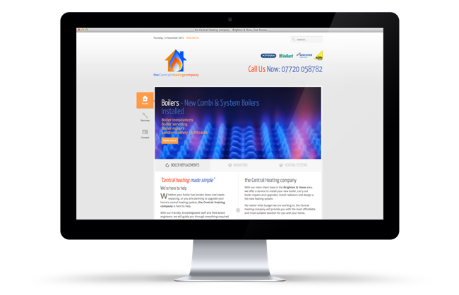 The Central Heating Company Website