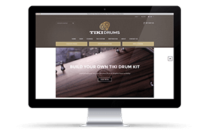 Tiki Drums Website